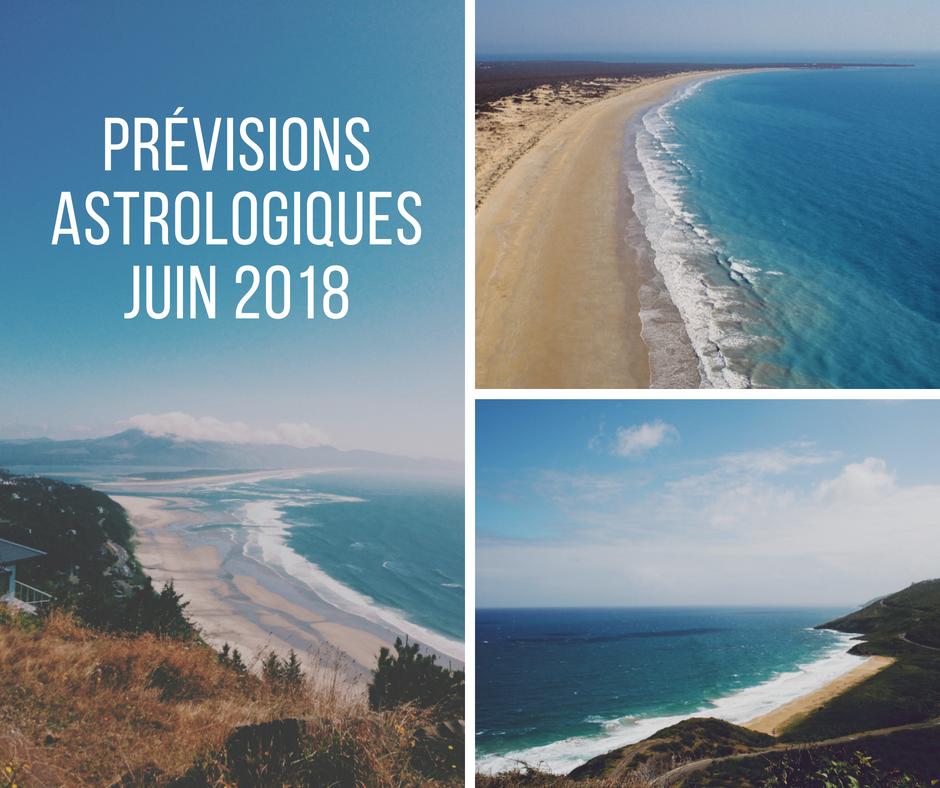 Les Prévisions astrologiques du mois de Juin 2018 par signe astrologique